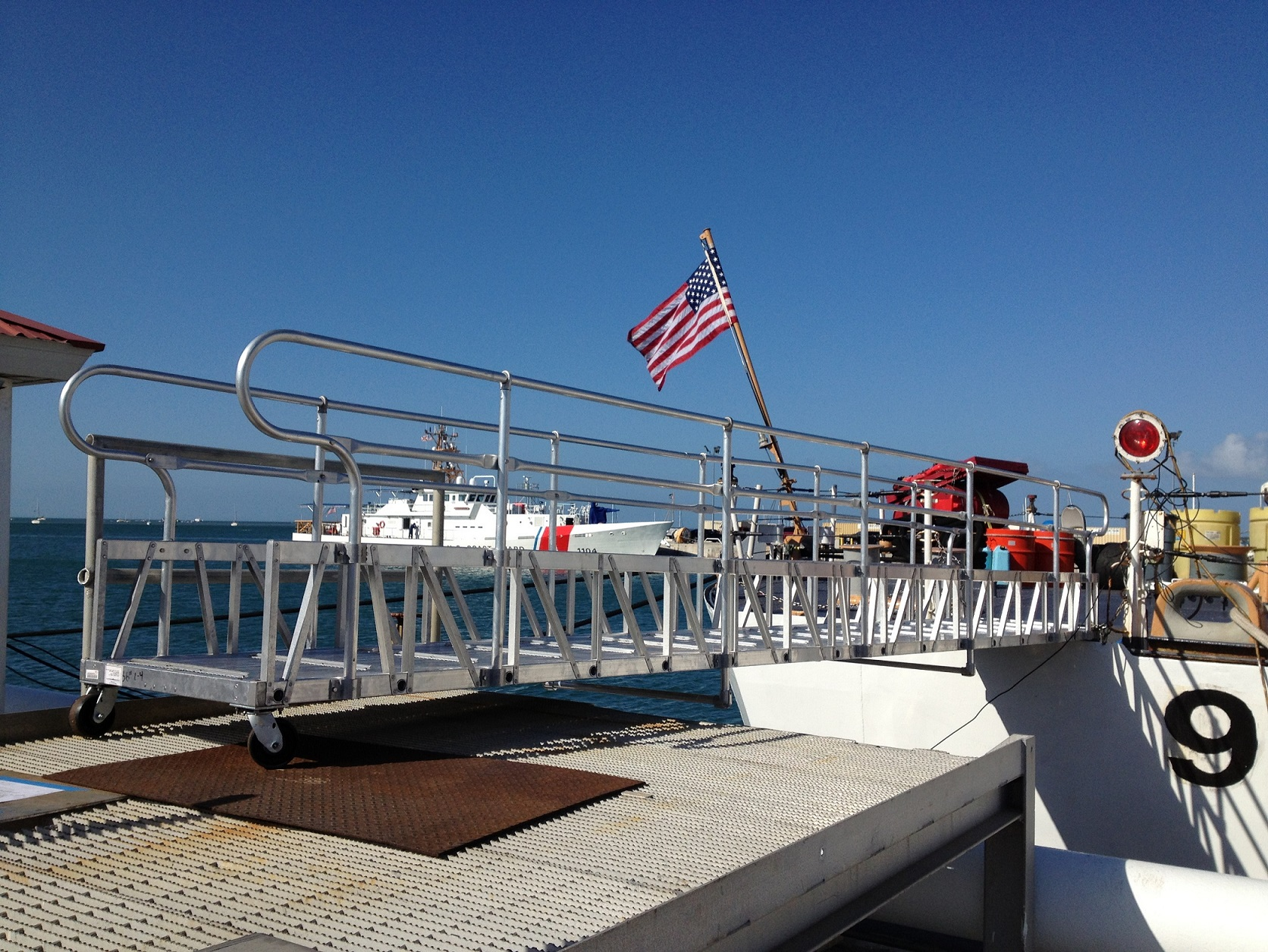 Coast Gangway With Casters