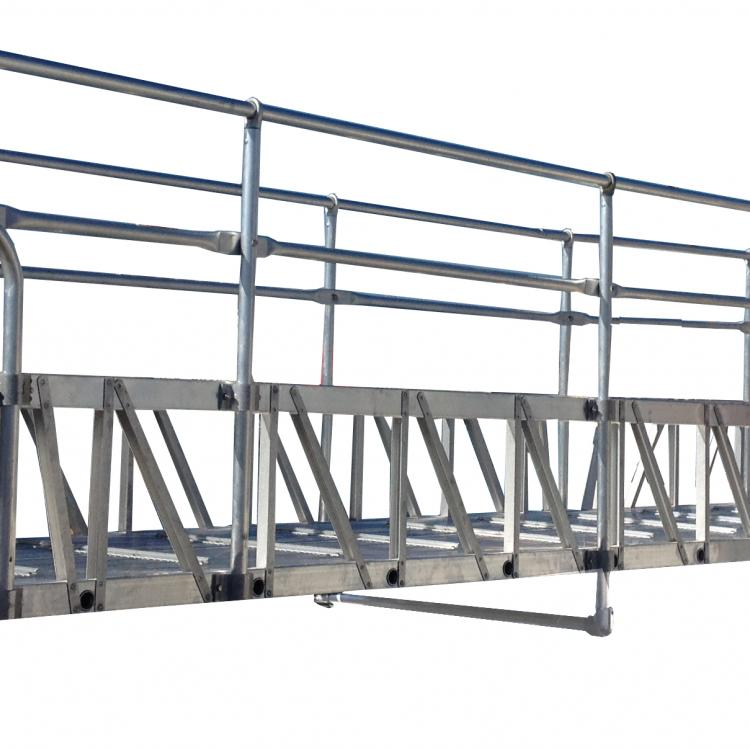 Aluminum Gangway with Casters